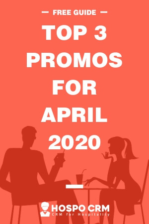 3 crucial promos for April 2020